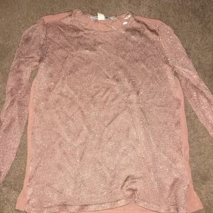 Mauve lightweight sweater